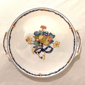Cartier Bernard Limoges Cake Platter